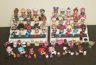 Lol Surprise HUGE Lot of over 100 Pieces of BRAND NEW LOL Dolls & Accessories!