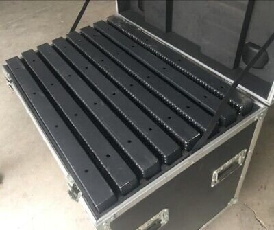 Videowall flight case for led screen holds 8panels (single case) fits our screen