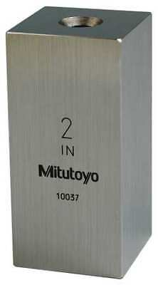 MITUTOYO 614202-531 Gage Block,Square,Steel,2.00 In,ASME 0
