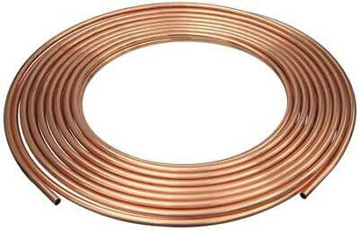 "MUELLER INDUSTRIES D 08100P 1/2"" OD x 100 ft. Coil Copper Tubing Type ACR"