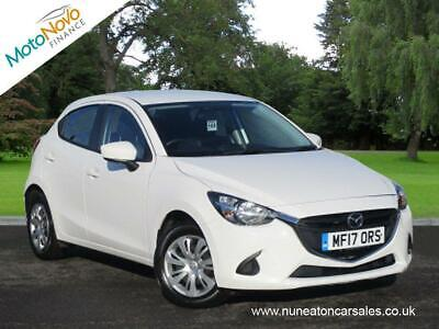MAZDA 2 SKYACTIV-G Start-Stop SE White Manual Petrol, 2017