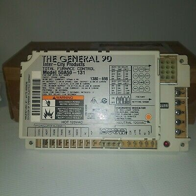 White Rodgers 50A50-131 The General 90 Furnace Control Circuit Board Module NEW