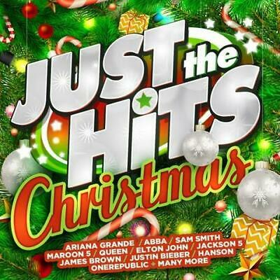 Just the Hits Christmas Various Artists 2 CD NEW
