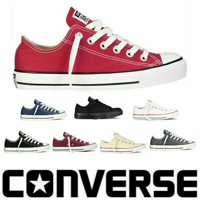 Zapatillas Deportivas  All Stars Low Top Size 36,37,38,39,40,41,42,43,44