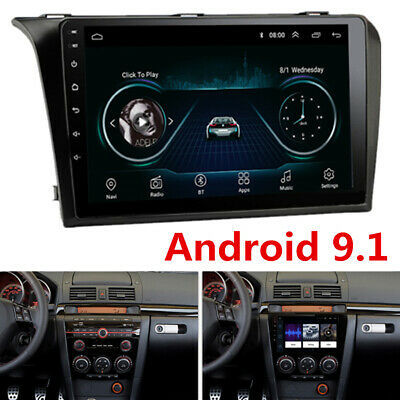 """2DIN 9"""" Android Radio für 2004-2009 Mazda 3 Stereo GPS Navigation 3G 4G +Canbus"""