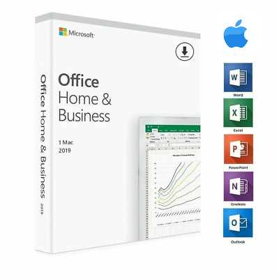 Microsoft Office for Mac Office 2019 Home and Business For Mac Genuine License