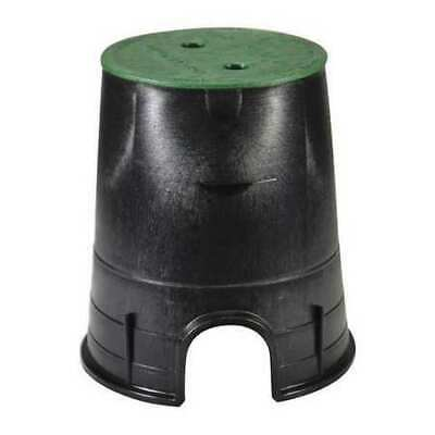 NDS 107BC Valve Box,Round,9in.Hx8-3/8in.W,6-1/2in.