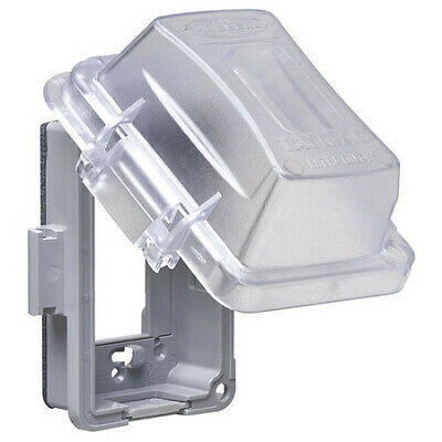 """TAYMAC MM420C While In Use Cover,2-3/4"""" D,1 Gang,Clear"""