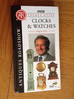 Antiques Road Show  Brand New Pocket Guide Book To Clocks & Watches