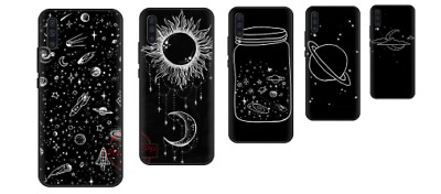 Black White Moon Stars Cover Case For All Apple Iphone 6 7 8 X Xr Xs 11 Pro Max