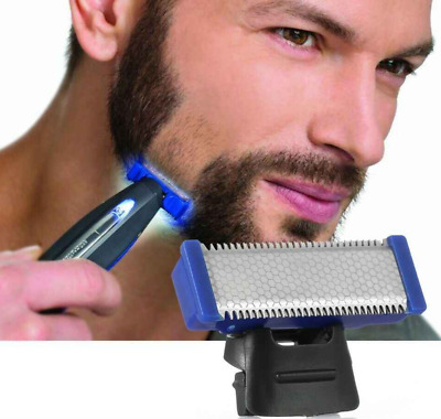 Rechargeable Men Hair Clipper Electric Cordless Body Hair Trimmer Beard Shaver