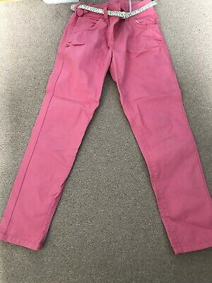 Girls Mid Length Trousers Aged 8 Years