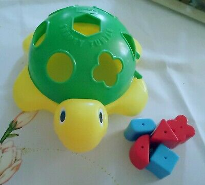 Baby Toddler Platic Turtle 🐢Toy Shapes Blocks Puzzle Education Activity