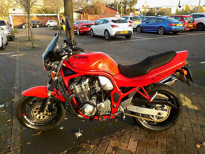 Suzuki GSF600 Naked Bandit 1997 24k excellent smart & looking,serviced new MOT