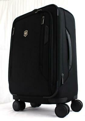 """Victorinox Vx Avenue Softside 22"""" Spinner Carry On Suitcase Black"""