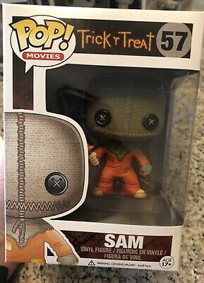 Funko Pop! Movies Trick r Treat Sam #57 VAULTED 2014 Horror Retired Rare