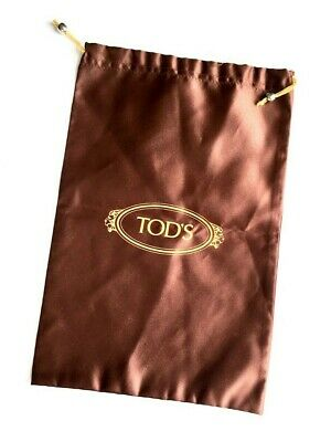 """TOD'S / Authentic / Drawstring Shoe Dust Bag Cover / 12.5"""" x 8.5"""""""