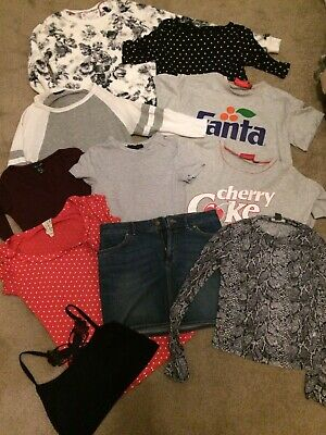 Winter bundle of girls clothes age 12-13 years Primark, Top Shop, H&M, New Look
