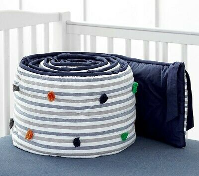 Pottery Barn Kids Julian Dot Bumper