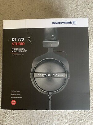 Beyerdynamic DT 770 Studio 80 Ohm Studio Headphones - Black