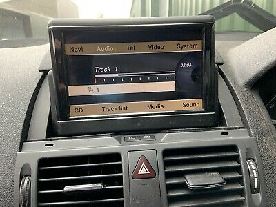 W204 Command Sat Nav Audio