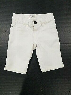 Girls White Capri Shorts With Extensible Waist Size 4 By The Childrens Place
