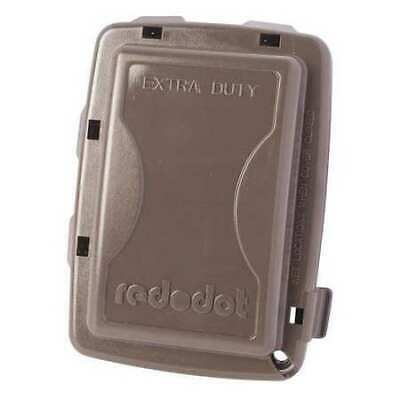 RED DOT CKPM-BR While In Use Weatherproof Cover,Bronze