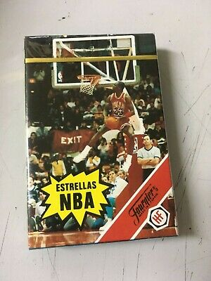 baraja cartas infantil estrellas de la NBA heraclio fournier New old stock