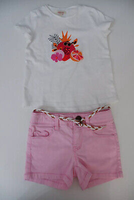 Catimini Outfit Set Shorts & Top Age 4 Years  Size 104cm VGC