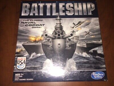 2012 BATTLESHIP The Classic Naval Combat Game By Hasbro Gaming NEW Sealed