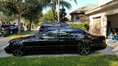 1997 Mercedes-Benz S-Class S500 4dr Sedan 5.0L MUSEUM QUALITY SHOWCAR STUNNING CONDITION NOSMOKER FLORIDA CL COUPE SL