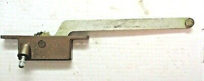 "Vintage Henne Casement Window Operator # 50 Left Hand 9-1/8"" Arm Bronze No Crank"