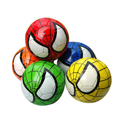 Size 2 Kids Spider Man Soccer Children Baby Football Spiderman Ball