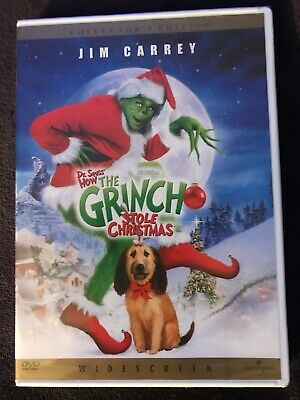 Dr. Seuss How the Grinch Stole Christmas DVD Collector's Edition New/ Sealed