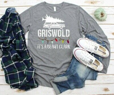 NEW! Christmas Vacation Griswold It's a Beaut Clark Funny T-Shirts S-3XL