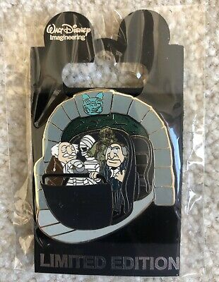 WDI LE 250 Statler and & Waldorf Doombuggy Disney Pin Muppets Haunted Mansion