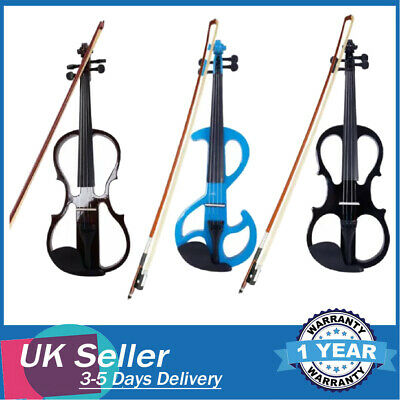 Black Friday 4/4 Size Beginners Acoustic Violin Fiddle Set With Case Maple