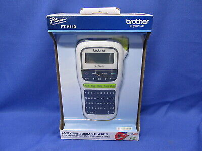 New Brother PT-H110 Portable Thermal Label Maker - P-Touch