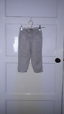 Girls Next Thin Trousers Grey Colour Age 2 - 3 Years