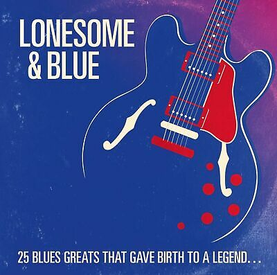 Rolling Stones Lonesome & Blue New Cd 25 Blues Greats That Gave Birth To Legend