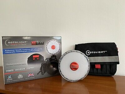 Rotolight Neo (V1), lightly used Includes D-Tap Cable