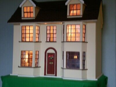 DOLLS HOUSE FOR SALE,1:12 scale, in wood. original kit from easi-build