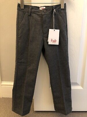 Il Gufo Viscose Mix Trousers Age 4 New With Tags