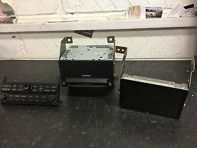Nissan Pathfinder R51 Sat Nav Satellite Navigation Unit Screen & Controller