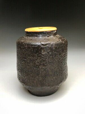 Edo Period Kuro-karatsu Chaire (tea caddy)