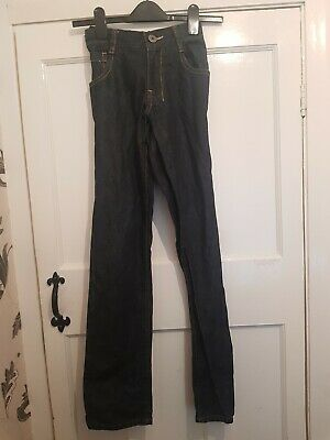 Boys navy blue Skinny Fit Black Jeans Age 12 Years By Next