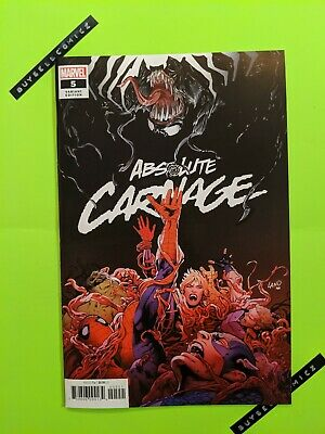 Absolute Carnage #5 Variant Greg Land Cover D Marvel 2019 NM