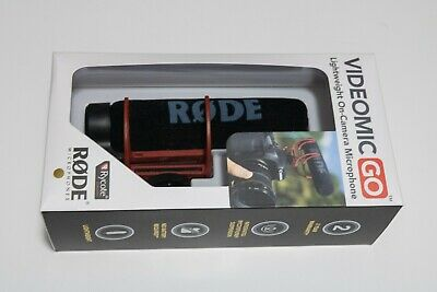 NEW - Rode VideoMic GO Compact On-Camera Microphone