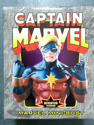 Randy Bowen Mini Bust Statue 1970's 70's Captain Marvel Mar-Vel 2995 of 3500