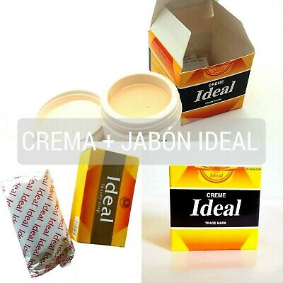 Crema Ideal marroqui anti manchas acne + jabon